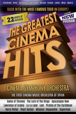 The Greatest Cinema Hits</br>CINEMA SYMPHONY ORCHESTRA - Since 1995